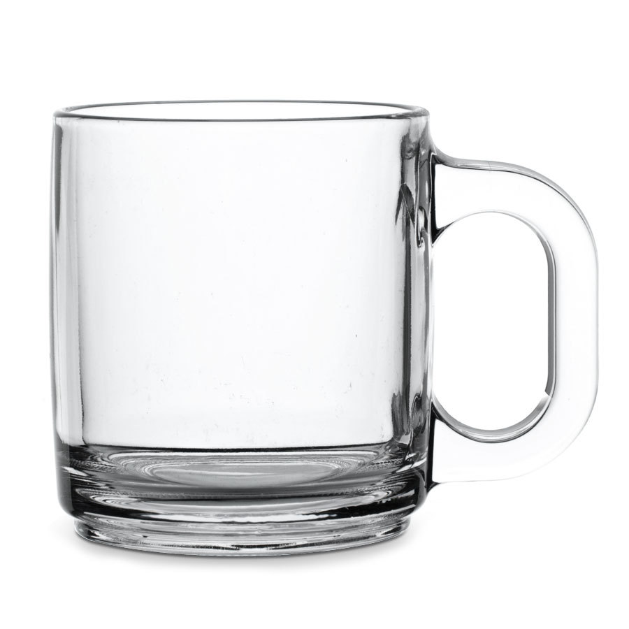 Tables of Elegance Glass Coffee Mug
