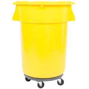 garbage on casters