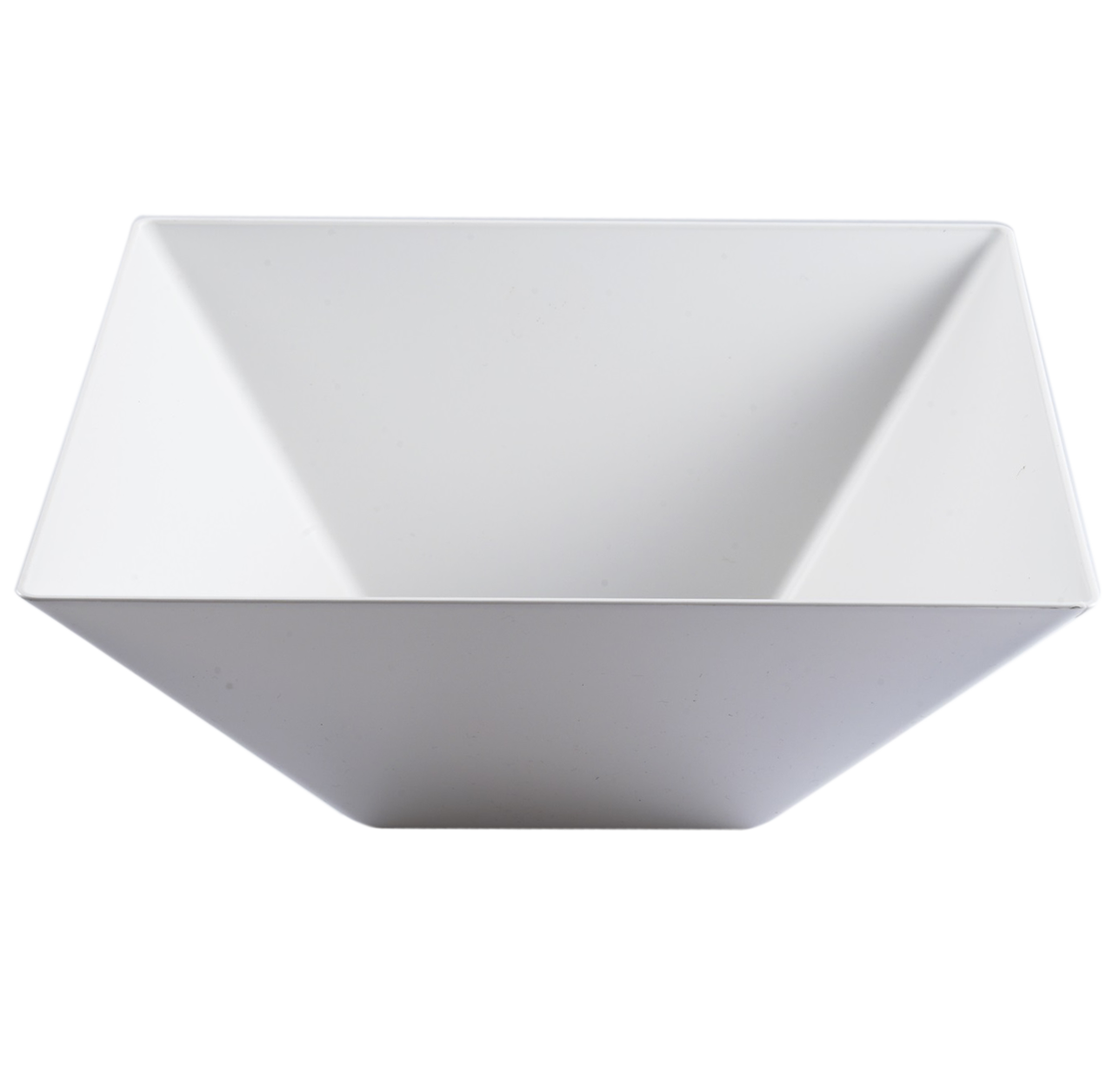 Tables Of Elegance Square Pyramid Bowl Clear Salad